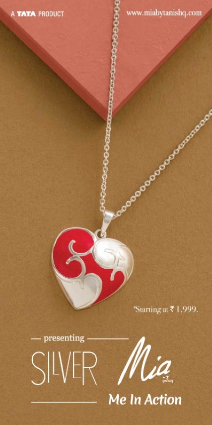 Only jewellery brand to introduce contemporary silver fashionable fine jewellery in the country