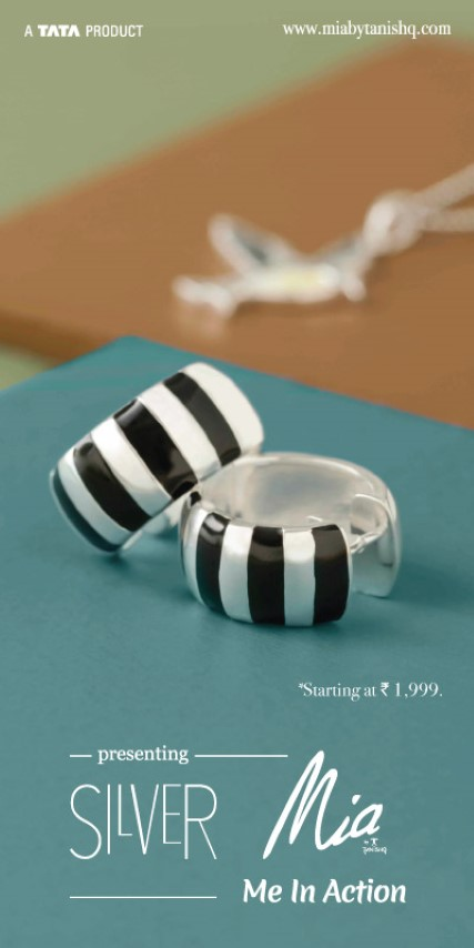 ~Only jewellery brand to introduce contemporary silver fashionable fine jewellery in the country~
