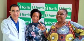 43 Year Old Zimbabwean Woman undergoes intricate Heart Valves Surgery at Fortis