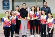 CGC Jhanjeri Girls Won PTU's Inter College Volleyball Tournament