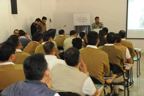 A training programme on topic of Sensitization of Police Personnel on Animal Laws