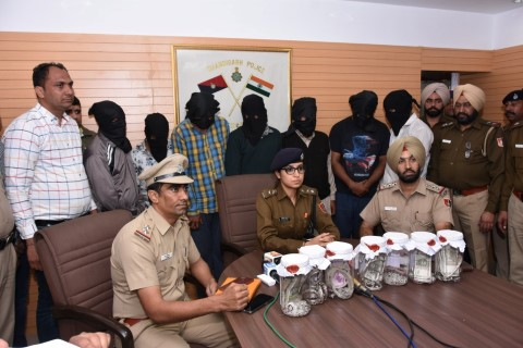 "Chandigarh Police achieved a major success in ""Cheating case"