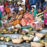 Huge enthusiasm at the Chhath festival at Maloya