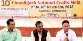 National Crafts Mela to begin from 9th November, 2018