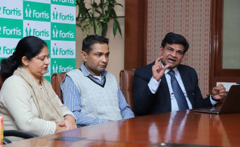 Doctors at Fortis Hospital, Mohali performs a rare medical feat, a global first