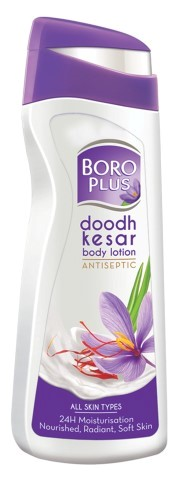 Unveil the healthiest skin this winter with the Boro Plus Doodh Kesar Body Lotion