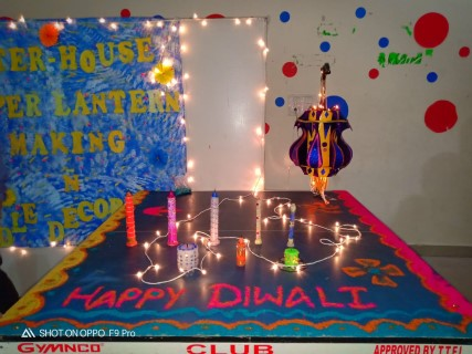 Unique diwali celebration at Brilliance