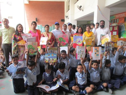 S DEV SAMAJ SCHOOL CELEBRATES HARIT DIWALI