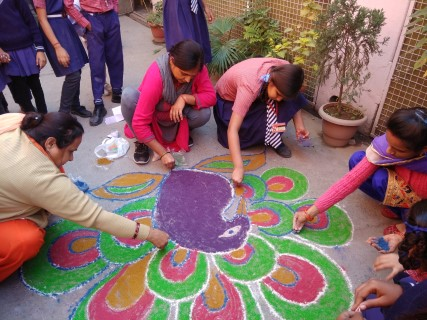 Students appeals to celebrate pollution free Diwali