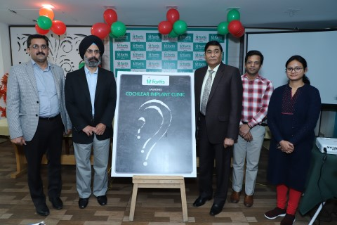 Fortis Mohali launches Cochlear Implant Clinic