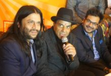 Veteran actor Dharmendra launched Garam Dharam in Mohali