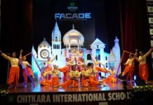 'Facade-The Structural Extravaganza',8th Annual Event of Chitkara International School