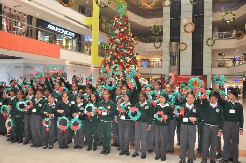 Christmas kids carnival kicks off at Bestech Square Mall
