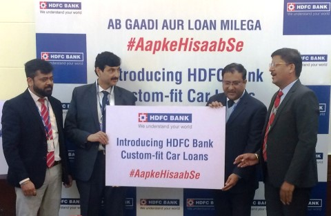 HDFC Bank launches custom-fit car loans #AapkeHisaabSe for aspirational India