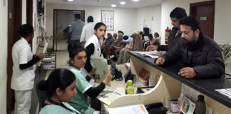 266 screened in a multi-specialty health camp