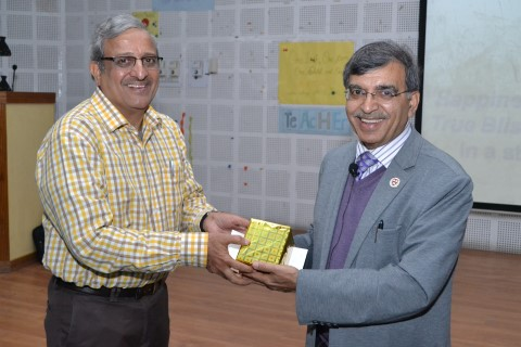 Dr. Omprakash Gulati from Harvard Medical School, USA, delivered lecture at NIPER