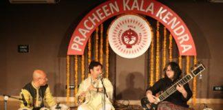 Pracheen Kala kendra organized its 254th monthly baithak titled as saazrang