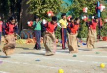 Junior Sports Day organised at Shemrock School