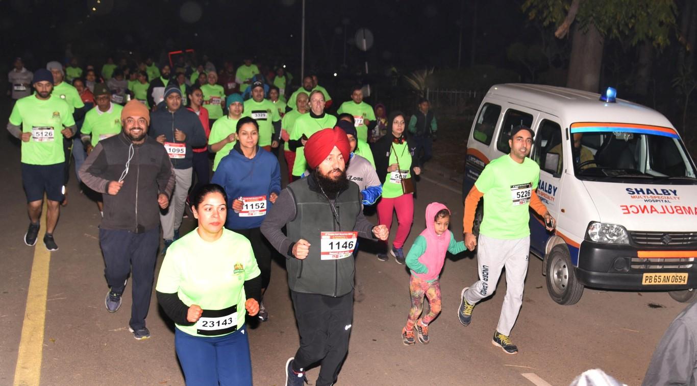 Shalby HospitalpartnersPunjab Half Marathon