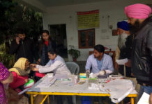 150 screened in a health camp at Mohali