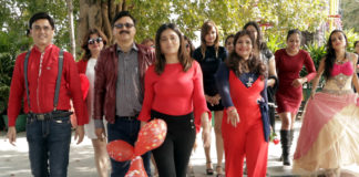 Valentine's Day Docs, celebrities walk the ramp on healthy heart awareness