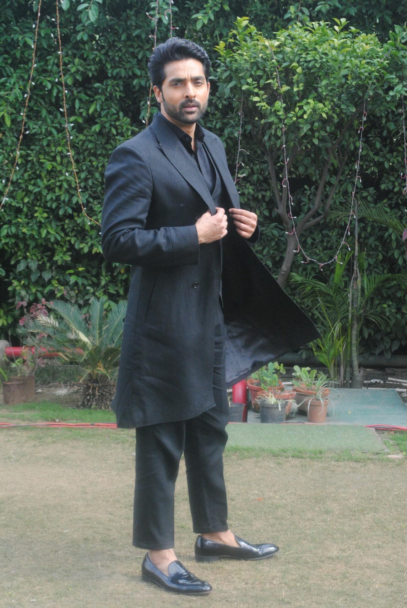Adhvik Mahajan reaches Chandigarh to promote his upcoming show Divya Drishti