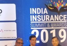 Shriram General Insurance MD & CEO, Mr. Anil Kumar Aggarwal conferred with CEO of the year Award