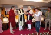 19th Uttam Vag-Gayekar Jialal Vasant Award presented to John MacLaughlin
