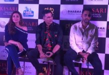 Akshay Parineeti and Director Anurag Sinha In Chandigarh To Promote Kesari