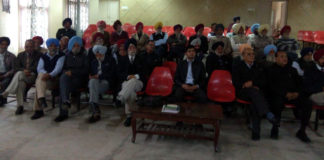 90 sr citizens attended heath talk on swine flu at Ropar