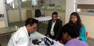 527 screened in Rotary Club Panchkula free health camp