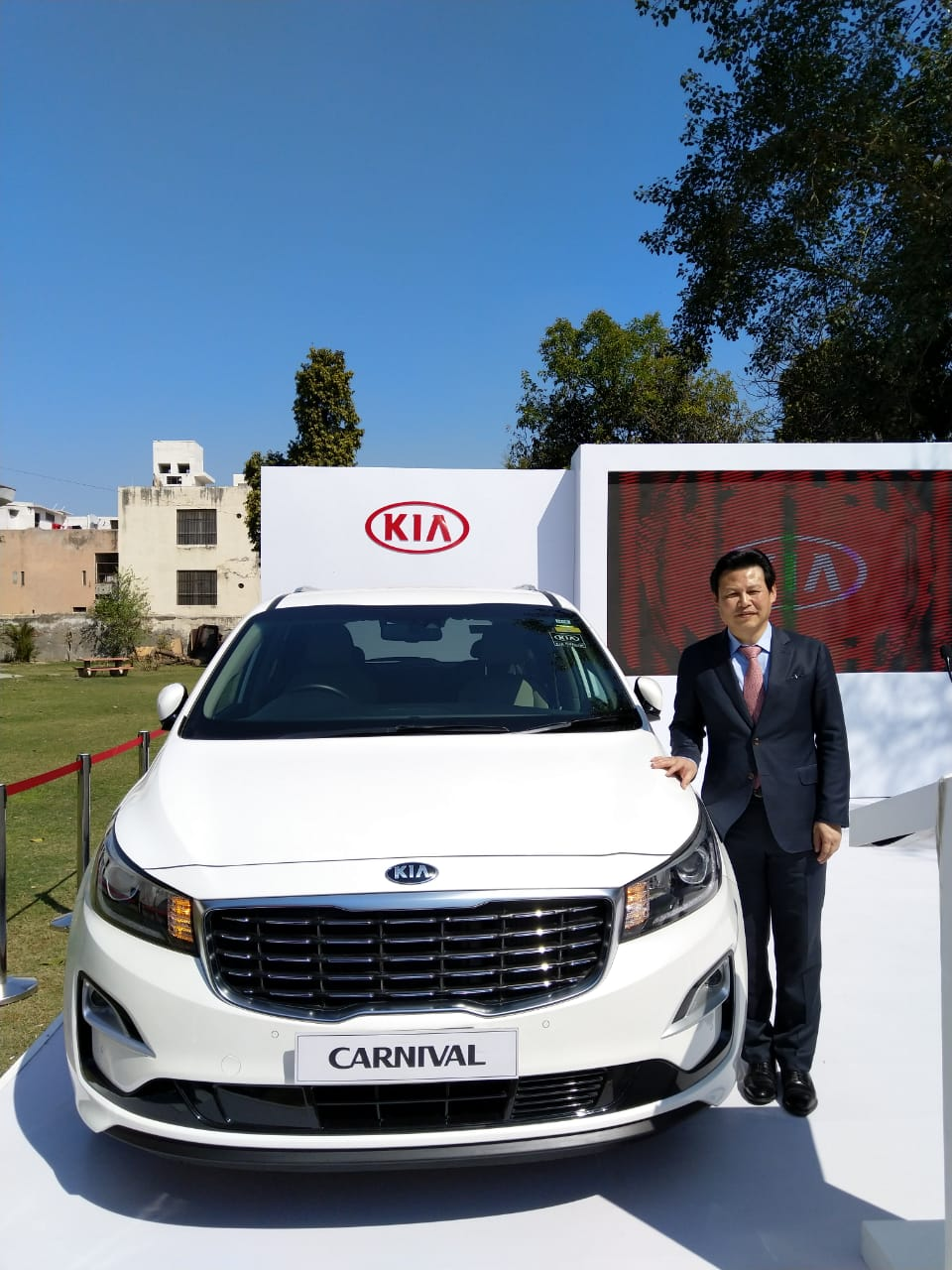 Kia Motors showcases world-class cars during the Design Tour in Rohtak