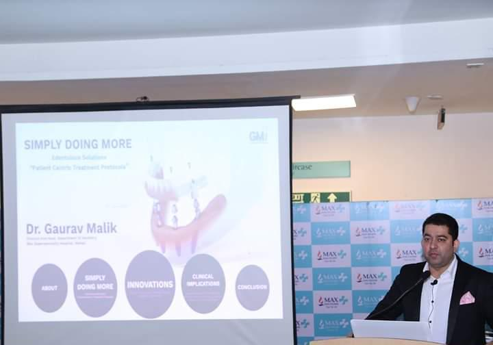 Educational workshop on Edentulism by Max Hospital Mohali