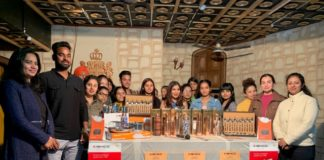 Jain was in city to launch Kishco's latest Copper Collection