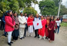 "NGO Zenith Roots with Nanhe Kadam&Rotaract Club Launches""World's First Period March"""