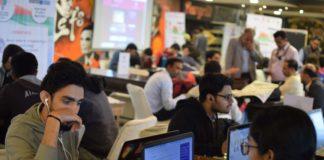 Smart India Hackathon 2019 Grand Finals held at Chitkara University.