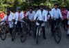 Docs pedal to mark World Earth Day