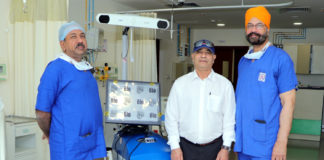 Two robotic knee replacement surgeries performed
