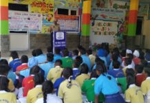 A seminar organized  at NRI Public School