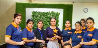 Rupica Chanday awarded the 'Region's Top Bridal Makeover Entrepreneur'