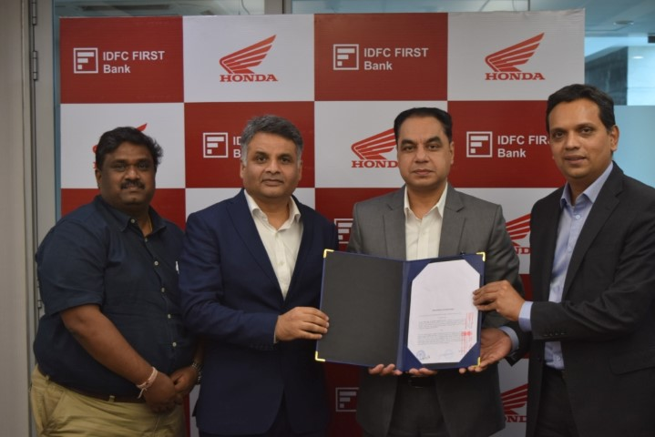 Honda 2Wheelers India adds new retail finance partner