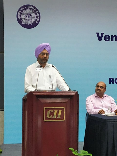 """Digitization is the new face of Indian Railway's Procurement System"", says T P Singh, GM Northern Railway"