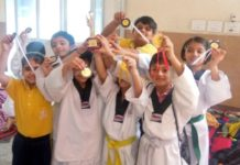 The Holy Wonder Smart School Excelled in  Inter City Taewkondo Martial Arts Little Champ Contest 2019