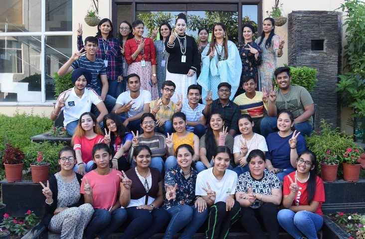 Chitkara International Schools' all rounders excelled in CBSE 10thBoard Examinations