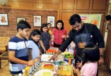 Sandwich making workshop by Cremica