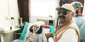 Governor visits ailing Hockey Olympian Balbir Singh at PgiMer