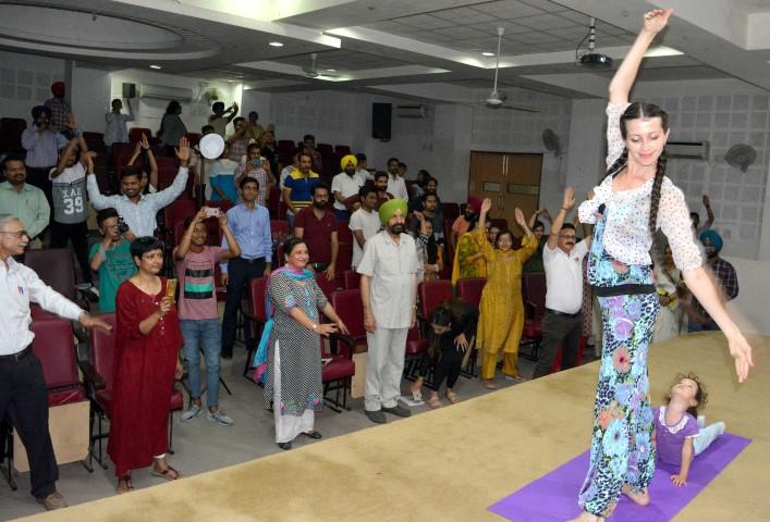 International Yoga Day & World Music Day celebrated