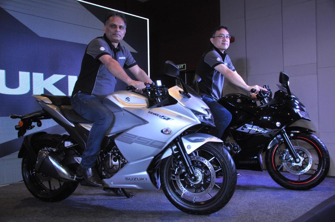 Suzuki Motorcycle India brings all new GIXXER SF 250 and GIXXER SF to Chandigarh