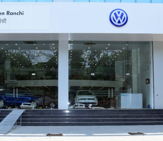 Strengthening its presence in East India, Volkswagen inaugurates its new dealership in Ranchi