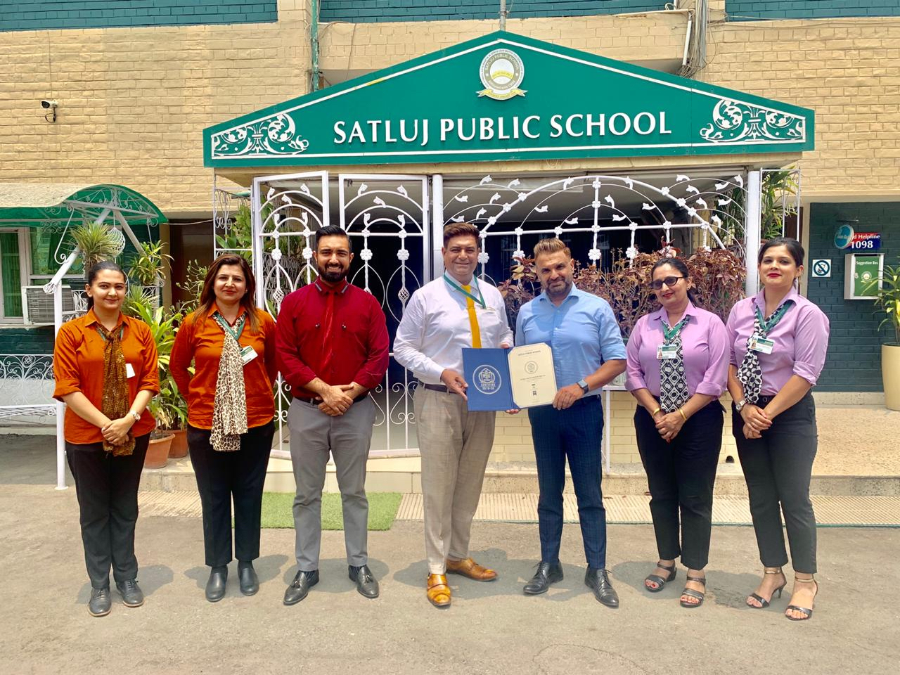 Panchkula School excels; gets top honour at House of Commons